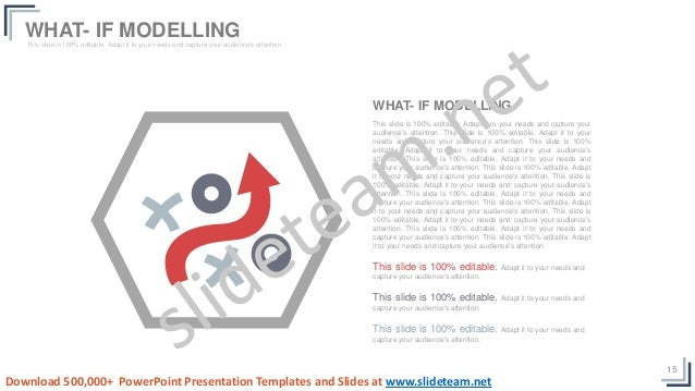 15 This slide is 100% editable. Adapt it to your needs and capture your audience's attention. This slide is 100% editable....