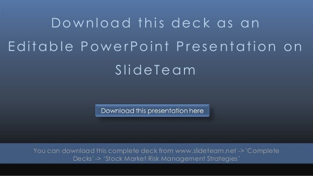 Download this deck as an Editable PowerPoint Presentation on SlideTeam You can download this complete deck from www.slidet...