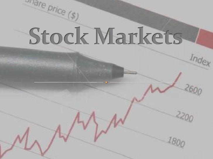 Stock Markets<br />