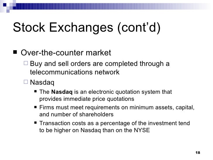 stock offerings and investor monitoring Chapter 10 stock offerings and investor monitoring  stock is then traded in  the secondary market, creating liquidity for investors and company evaluation.
