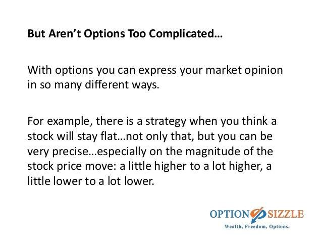 Stock vs stock options