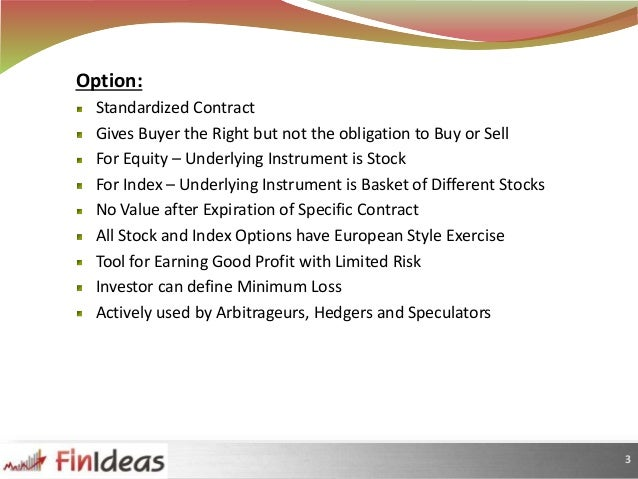 What does option trade do for farmers