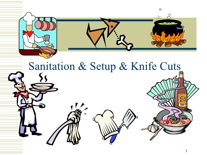 Sanitation & Setup & Knife Cuts