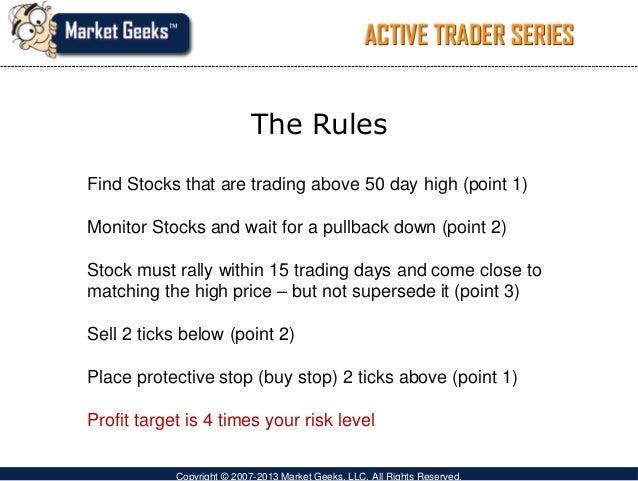 Stock market swing trading strategies