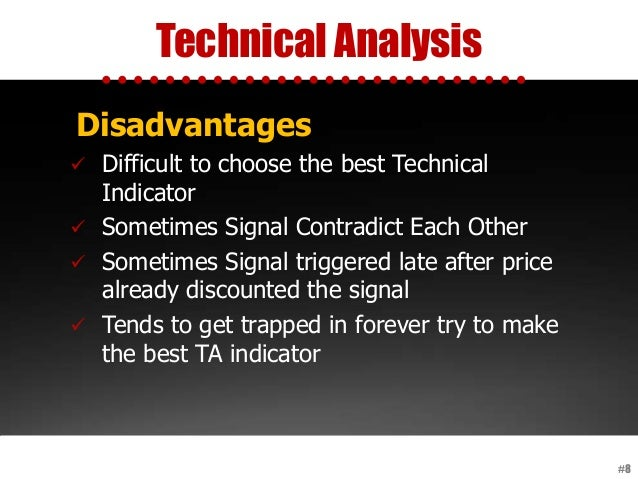 Technical Analysis #8 Disadvantages