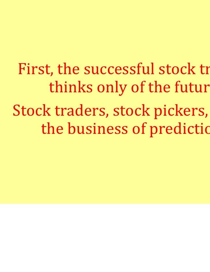 Successful stock market trading strategies