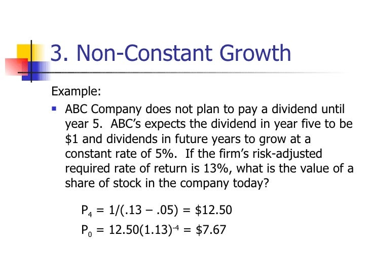 stock valuation This free online stock price calculator will calculate the most you could pay for a stock and still earn your required rate of return -- all based on the current dividend and the historical growth percentage.
