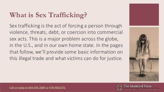 Sex Trafficking: A Hidden Problem in Georgia and Across the U.S. Slide 2