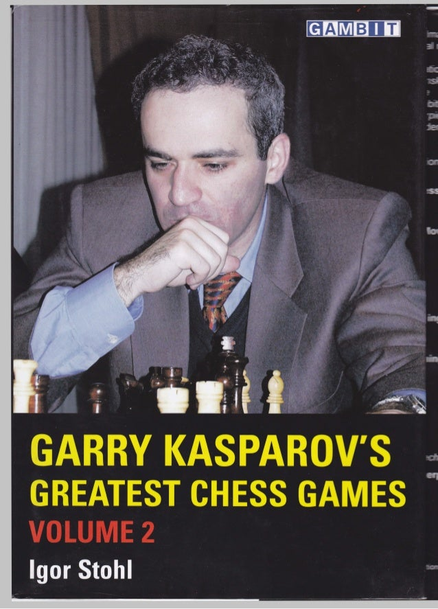 kasparov's greatest chess games vol. 2 (gambit, 2006)