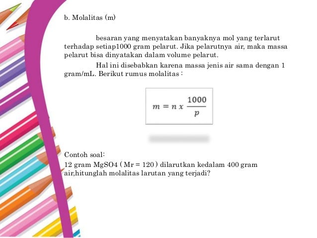 Stoikiometri Kimia Kelas X