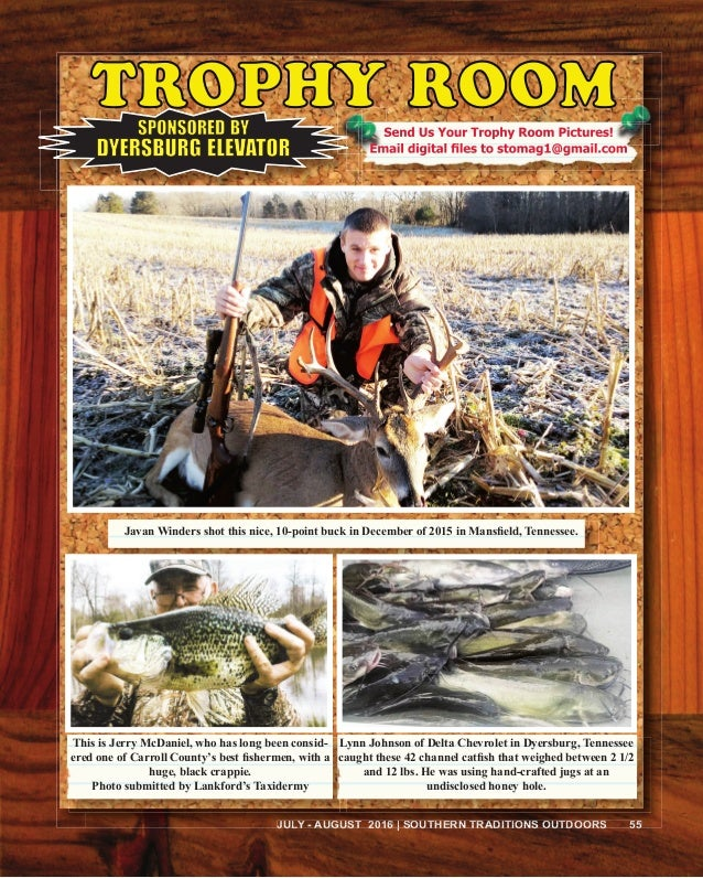Southern Traditions Outdoors July August 2016