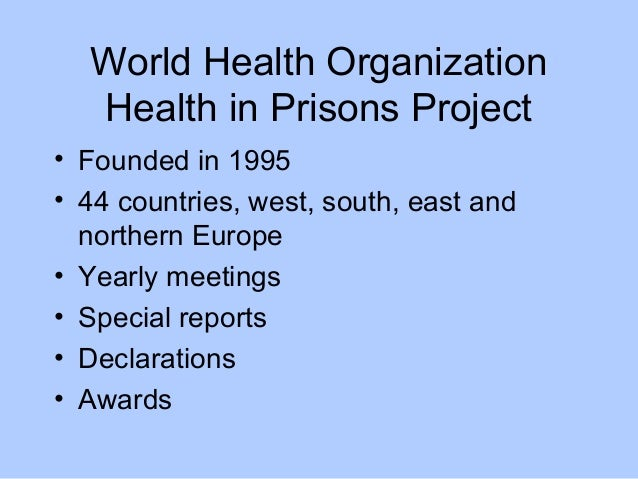 female prison inmates health evaluation Analyzing the effectiveness of rehabilitation programs evaluation tool inmates in the class.