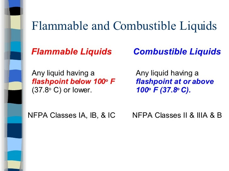 Flammable Liquids Training
