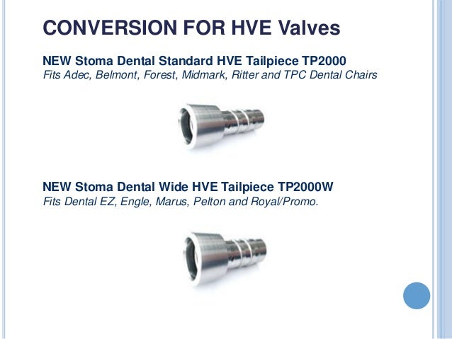 Stoma Dental Disposable Evacuation Valve Tutorial