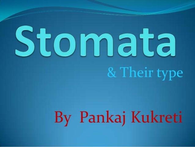 & Their type  By Pankaj Kukreti