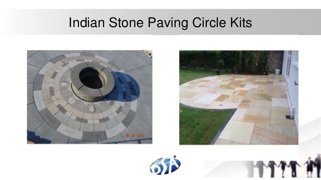 Elegant Stone Patio Circles Indian Stone Paving Circle Kits With Stone  Paving Circle Kits.