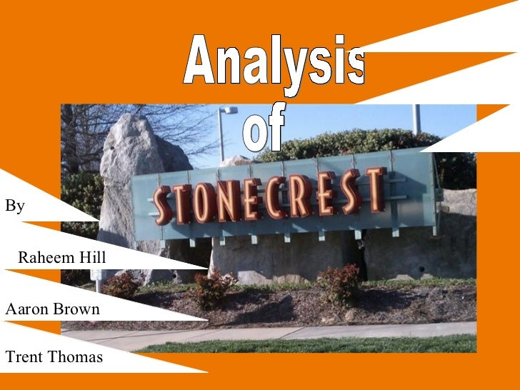 Analysis  of  By Aaron Brown Trent Thomas Raheem Hill