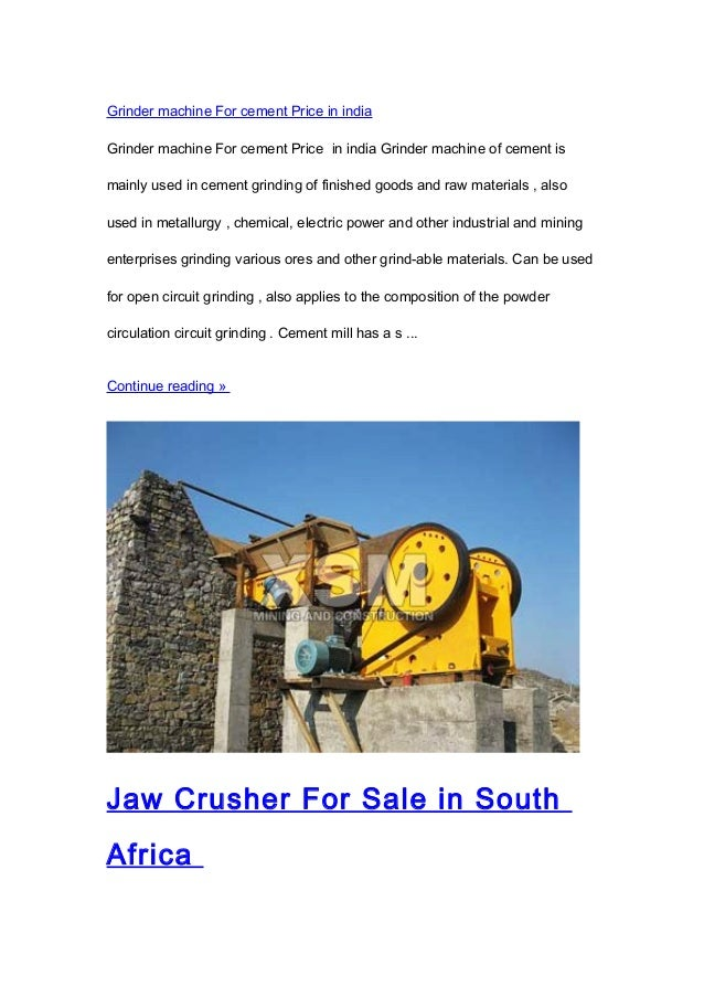 Open Circuit Cement Grinding Plant : Stone crusher price and grinding mill machine for sale