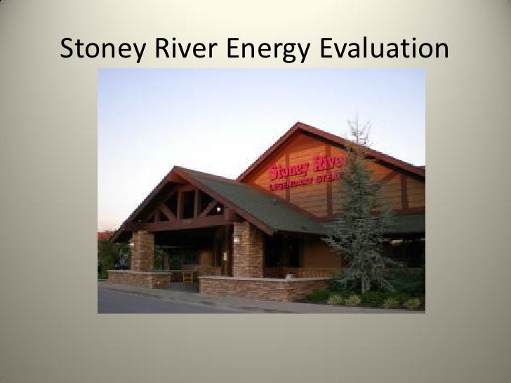 Stoney River Energy Evaluation