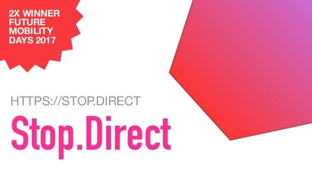 Stop.Direct Abfahrten mit 1 Tap Deutschlandweit