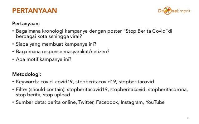 Kampanye Stop Berita Covid Slide 2