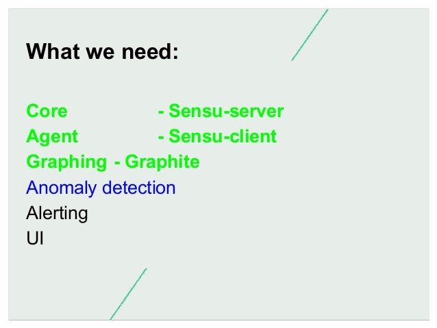 Anomaly detection is hard. We've got all this metric data, but how do we check it? - Skyline/Oculus (Etsy) - Grok (very ea...