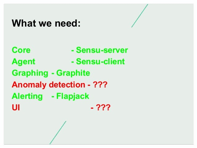 In Summary  Nagios sucks. There are good tools for each concern of monitoring. If we can package them together, we can hav...