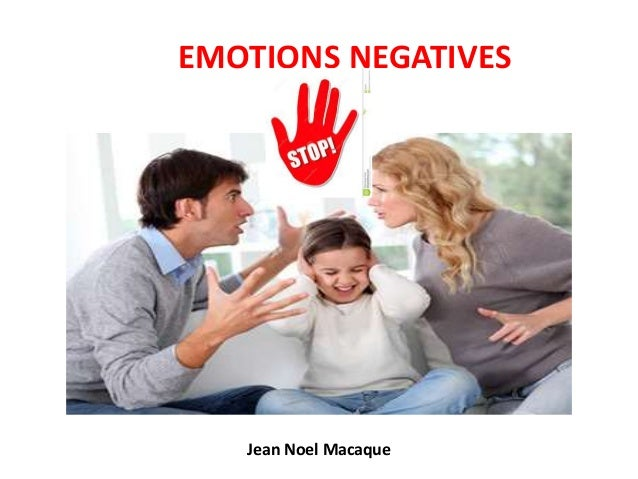 EMOTIONS NEGATIVES Jean Noel Macaque