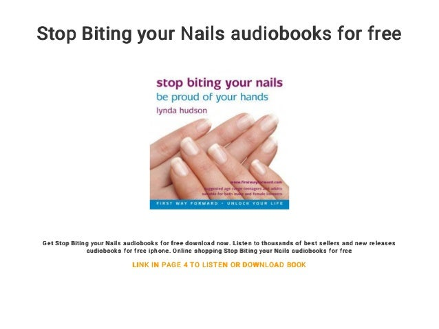 Stop Biting Your Nails Free Audiobooks