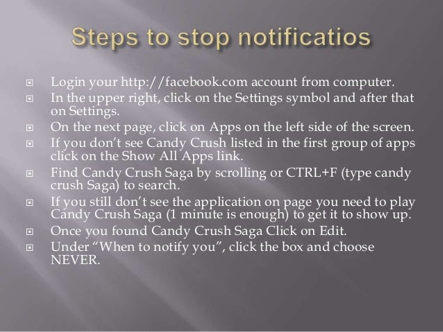 how to stop getting friend notifications on facebook