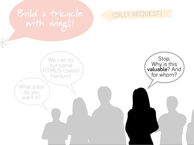 Build a tricycle        (SILLY REQUEST)     with wings!*    B                               b              We can try     ...