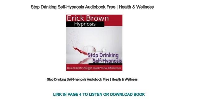 Stop Drinking Self-Hypnosis Audiobook Free | Health & Wellness