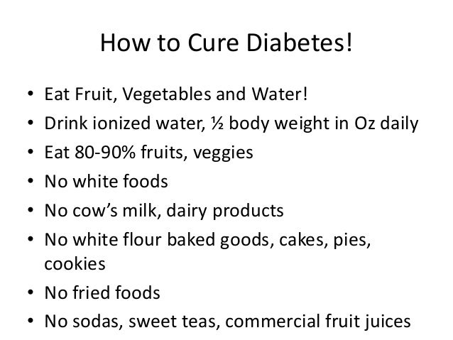 how to avoid diabetes naturally