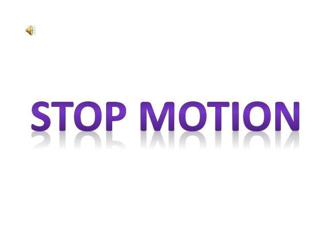 O que é stop Motion? • Stop motion é uma técnica de animação com recursos da máquina de filmar, de uma máquina fotográfica...