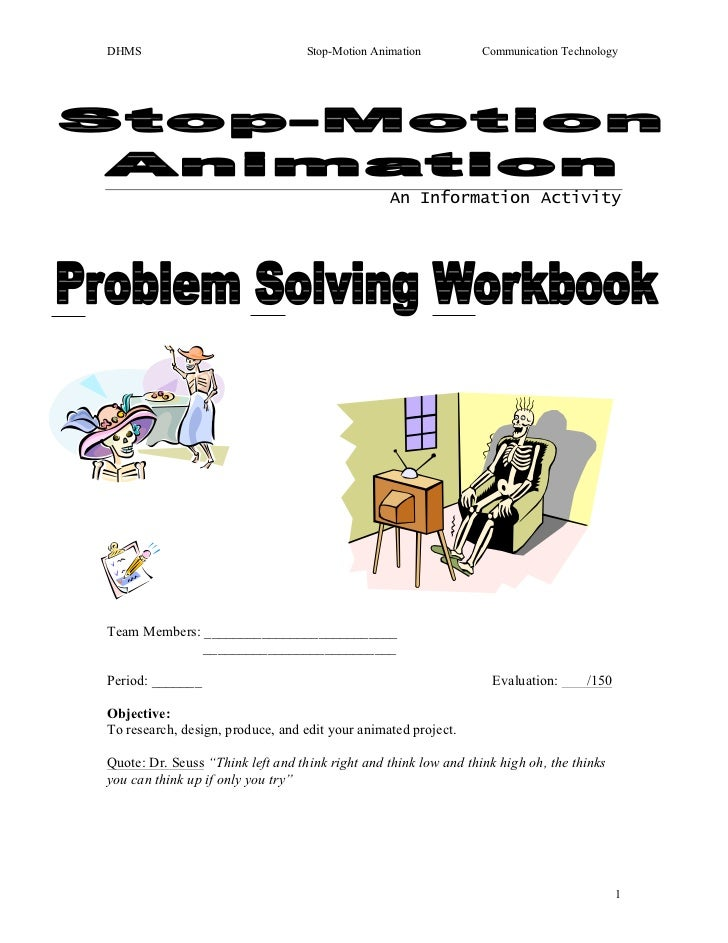 Stop motion animation psw