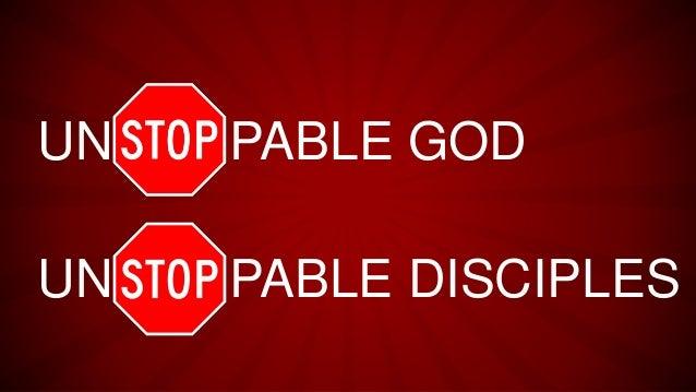unstoppable god    stoppable you