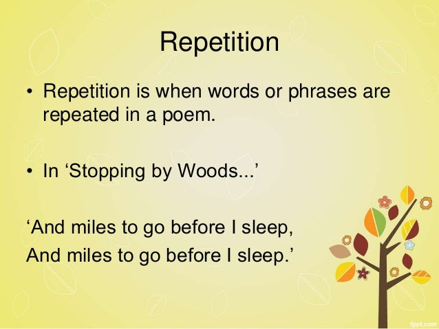 Stopping by woods on a snowy evening by Robert Frost