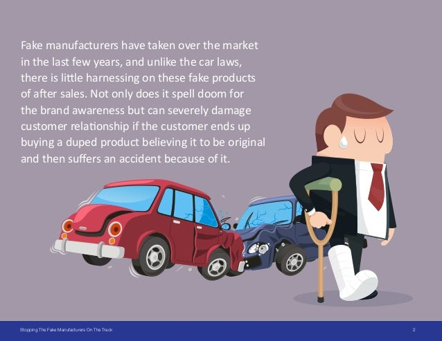 6 Ways to Stop Duplication in Auto & Spare Parts Industries Slide 2