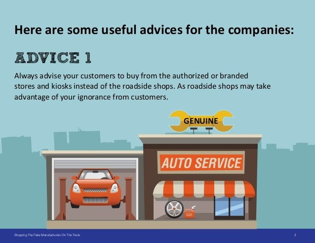 6 Ways to Stop Duplication in Auto & Spare Parts Industries Slide 3