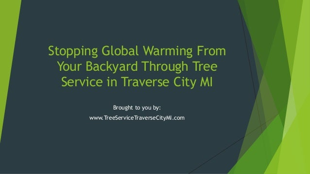 Stopping Global Warming FromYour Backyard Through TreeService in Traverse City MIBrought to you by:www.TreeServiceTraverse...
