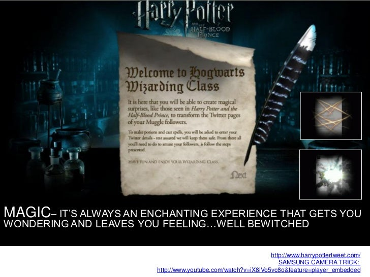 MAGIC– IT'S ALWAYS AN ENCHANTING EXPERIENCE THAT GETS YOU WONDERING AND LEAVES YOU FEELING…WELL BEWITCHED                 ...