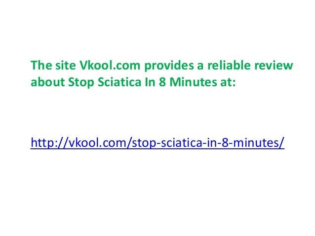 stop sciatica in 8 minutes pdf