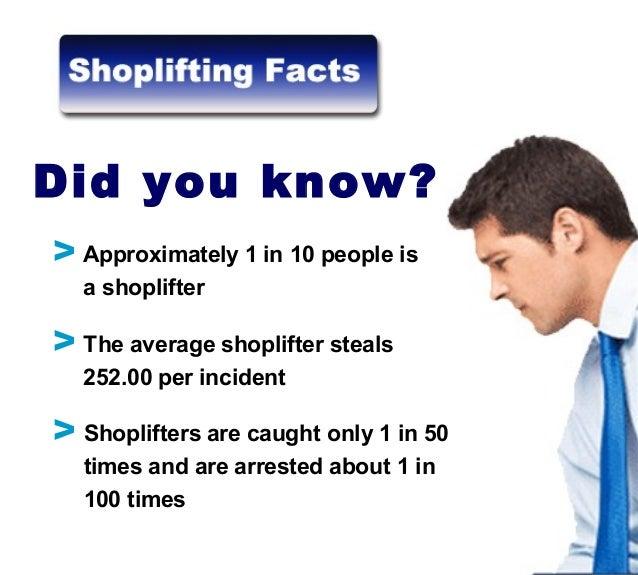 Stop shoplifting