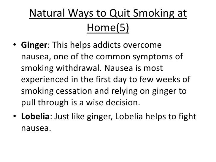 Smoking And How To Quit