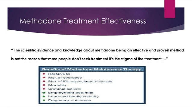 methadone maintenance therapy mmt Acute pain management for patients receiving maintenance methadone or buprenorphine therapy ann intern med considerations before mmt for the patient who acknowledges an opioid addiction problem, the primary care provider's first step should be to attempt to wean the patient off the.