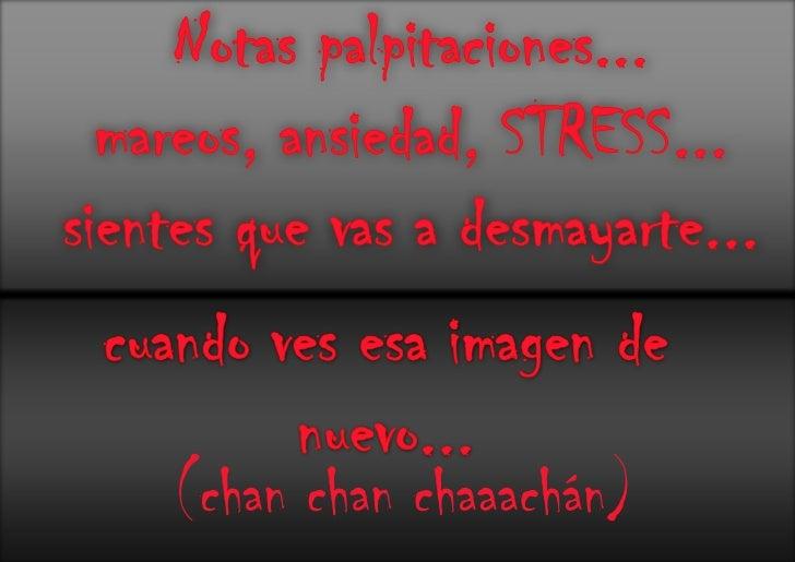 Contra el Stress Olimpico....StopStress!!!