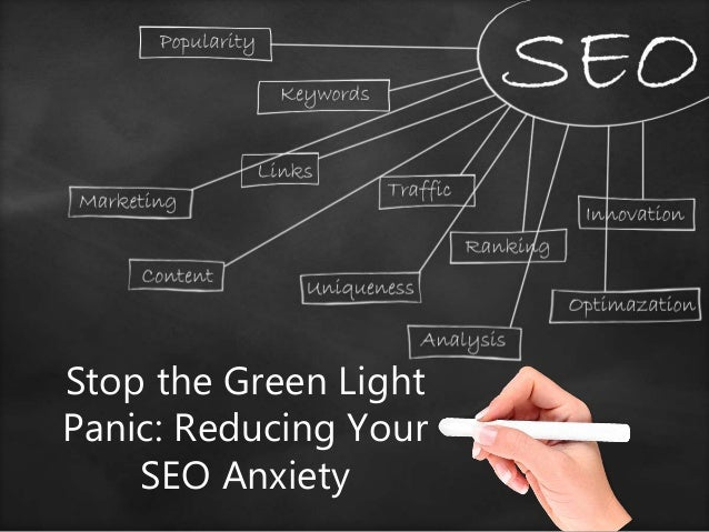 Stop the Green Light Panic: Reducing Your SEO Anxiety