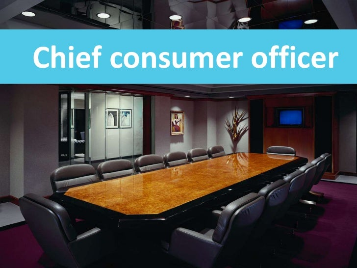 Chiefconsumerofficer<br />