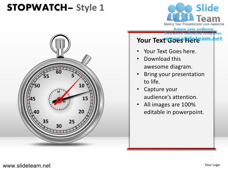 STOPWATCH– Style 1                                               Your Text Goes Here                                      ...