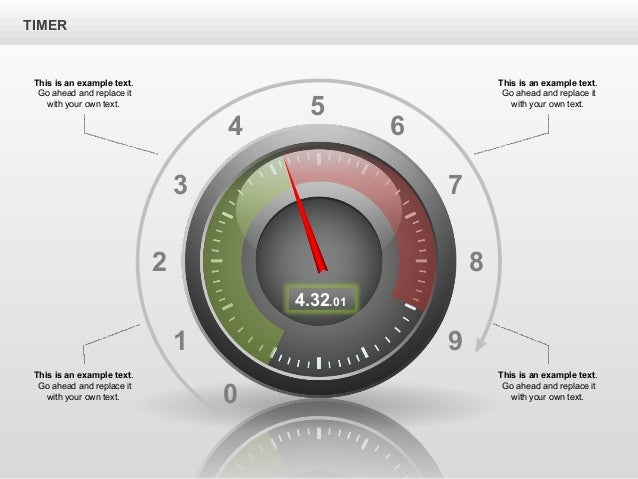 Stopwatch stage diagrams for powerpoint by poweredtemplatecom for Poweredtemplate